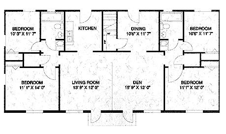 1,480 sq. ft. C floor plan