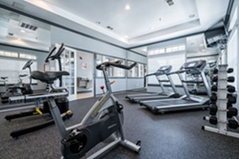Fitness Center at Listing #138109