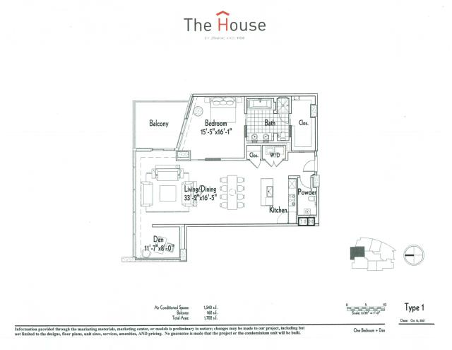 1,540 sq. ft. 1 floor plan