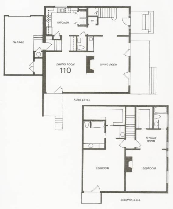 2,393 sq. ft. 109 Try-Level floor plan