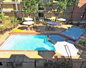 Pool at Listing #135918