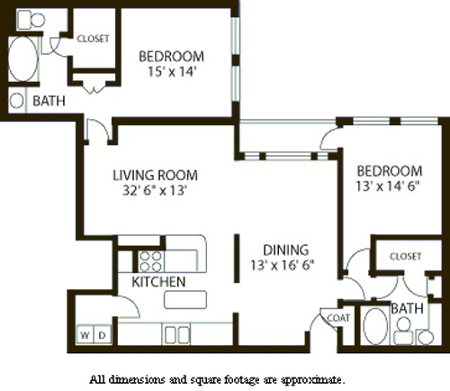 1,665 sq. ft. B7 floor plan