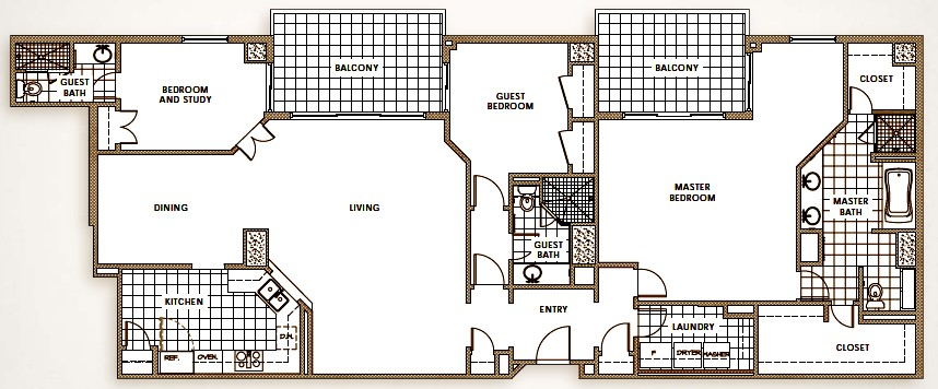 2,359 sq. ft. to 2,751 sq. ft. floor plan