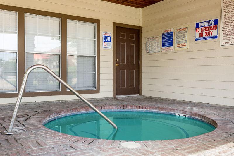 Hot Tub at Listing #135948