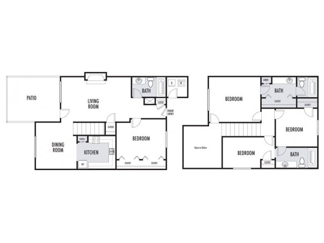 1,430 sq. ft. floor plan