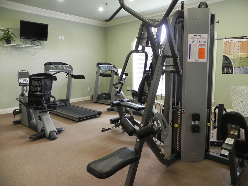 Fitness Center at Listing #146161