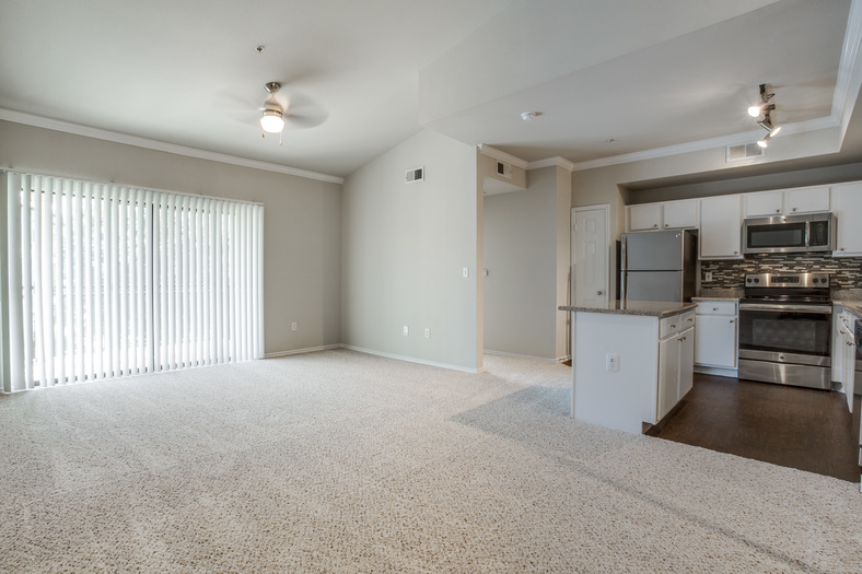 Living/Kitchen at Listing #138012