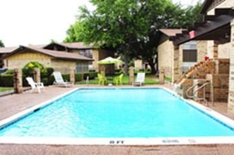 Pool at Listing #137369