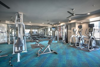 fitness center at Listing #146767