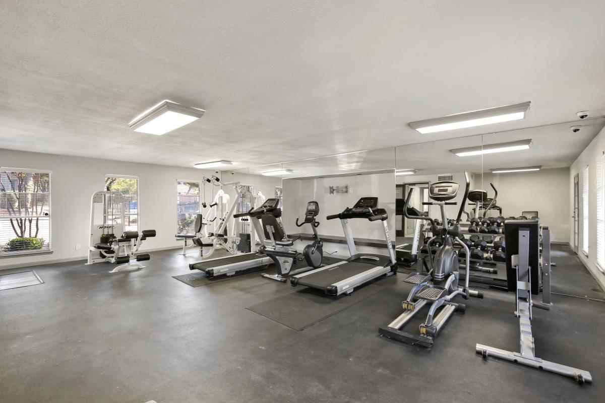Fitness Center at Listing #135825