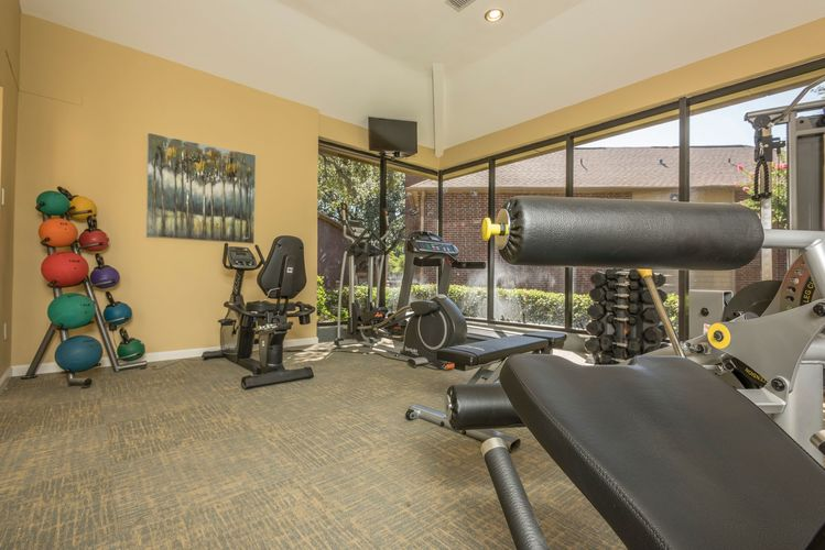 Fitness Center at Listing #136994