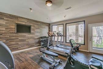 fitness center at Listing #140531