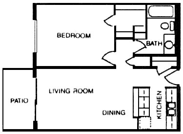 638 sq. ft. floor plan