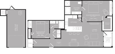 1,259 sq. ft. Ontario floor plan
