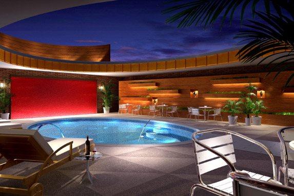Pool at Listing #135684