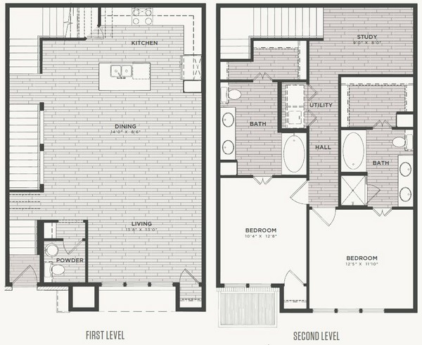 1,638 sq. ft. B1 floor plan