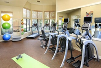 Fitness Room at Listing #140154