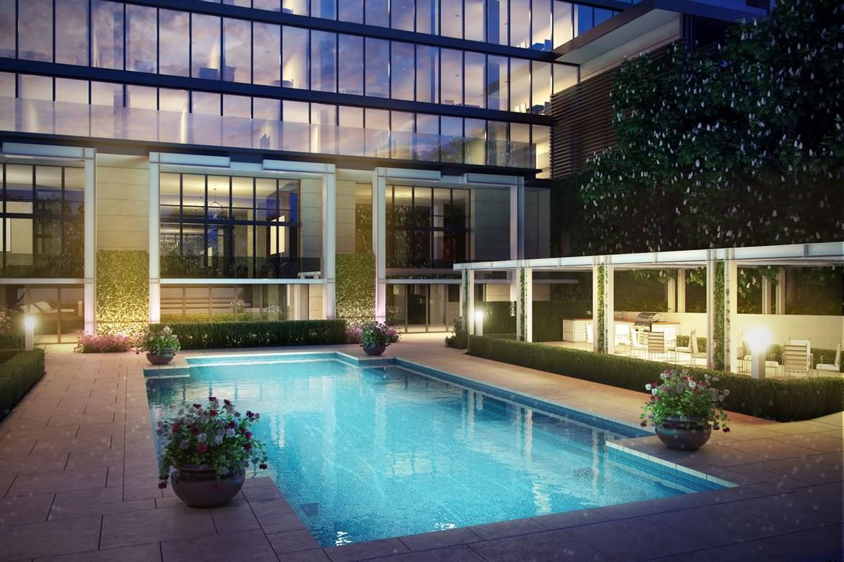 Pool at Listing #139111