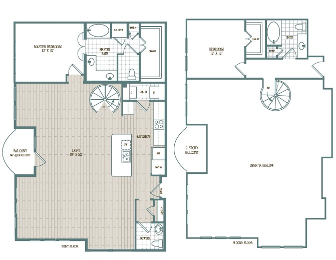 1,823 sq. ft. Cabana floor plan