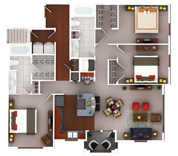 1,380 sq. ft. Cg1.2 floor plan