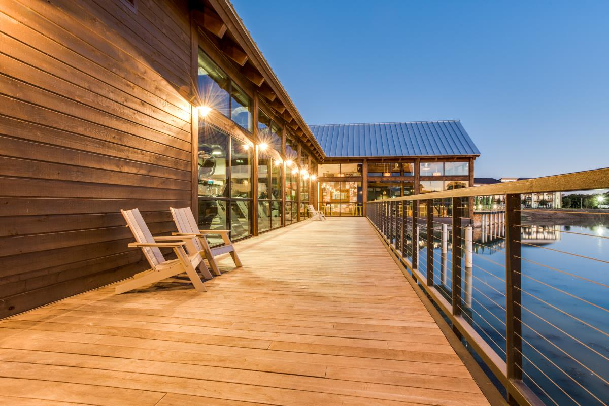 View of the lake at Listing #261160