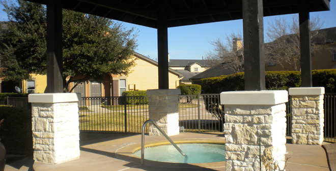 Hot Tub at Listing #138531