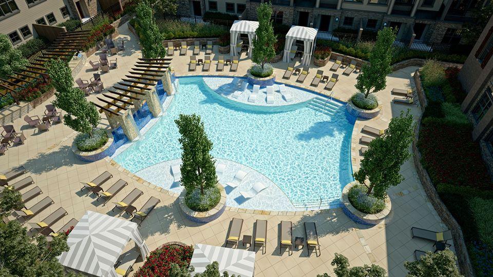 Pool at Listing #282250