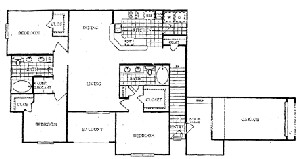 1,599 sq. ft. R floor plan