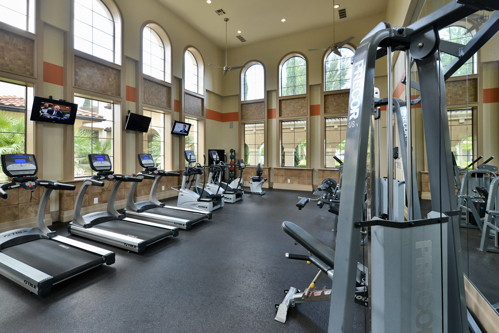 Fitness Center at Listing #144138