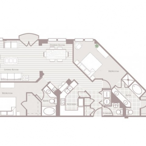 1,529 sq. ft. floor plan