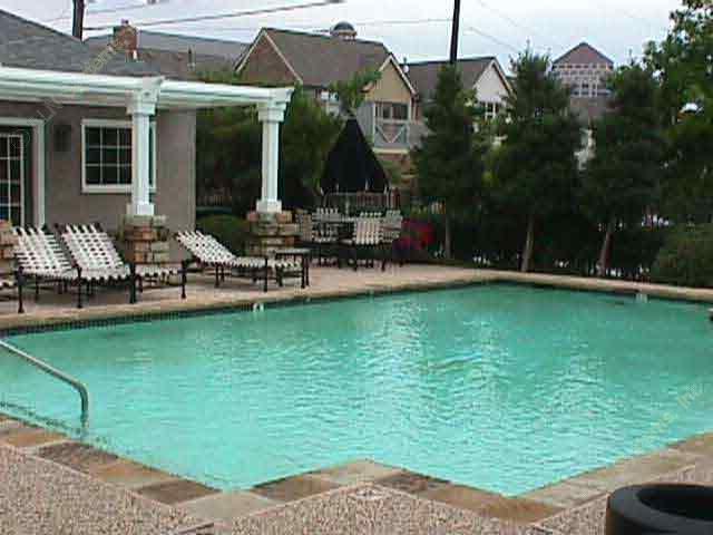 Pool Area at Listing #137483
