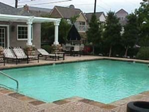 Pool Area at Listing #137483