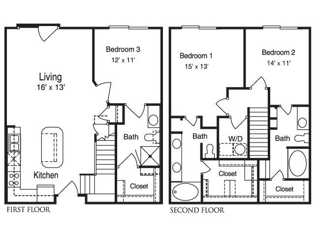 1,425 sq. ft. MPSC1 floor plan