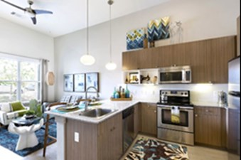 Living/Kitchen at Listing #153053
