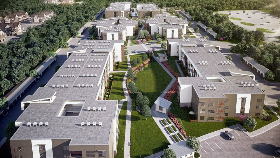 Aerial View at Listing #289599