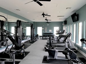 Fitness Center at Listing #151579