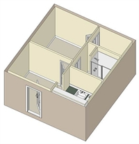 425 sq. ft. 60 floor plan