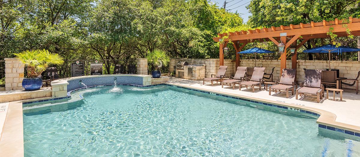 Pool at Listing #140642