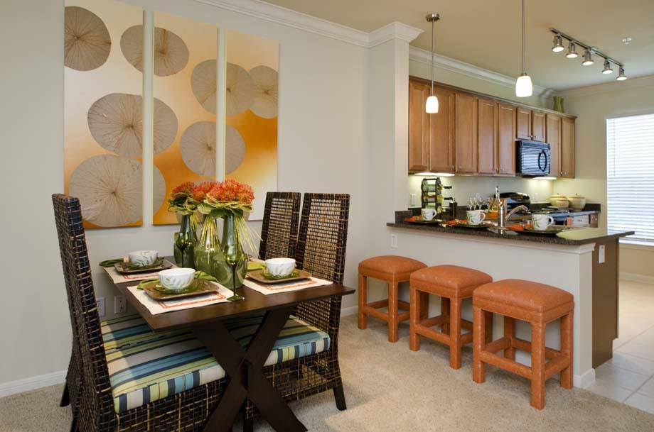 Dining/Kitchen at Listing #146426