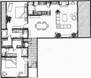 1,589 sq. ft. E floor plan