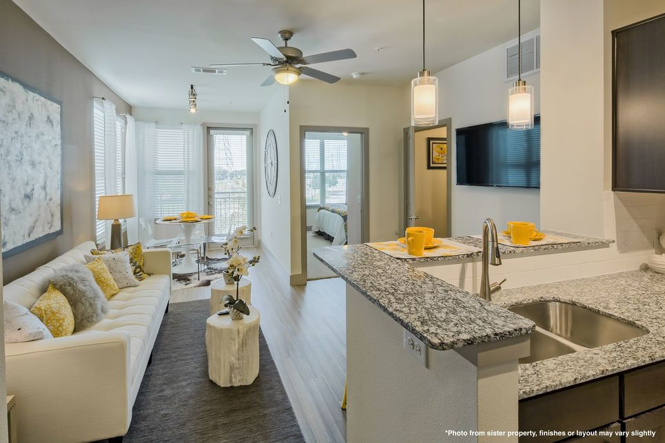 Living/Dining at Listing #274979