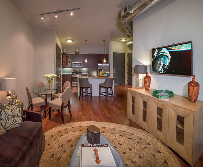 Living Area at Listing #227414