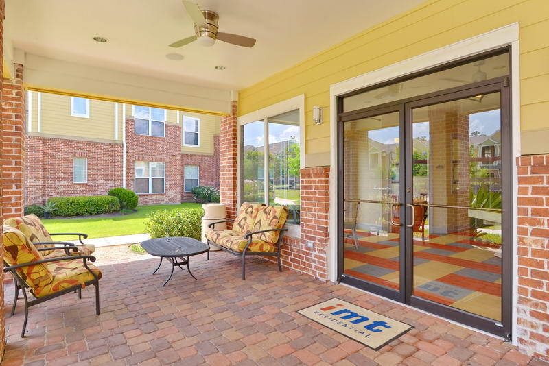 Patio at Listing #144784