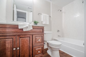 Bathroom at Listing #136341