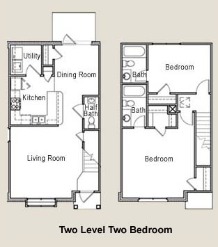 1,181 sq. ft. 60% floor plan