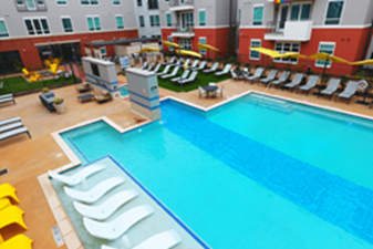 Pool at Listing #242448