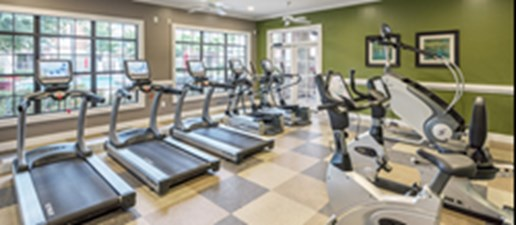 fitness center at Listing #146470