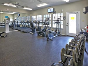 Fitness Center at Listing #136816
