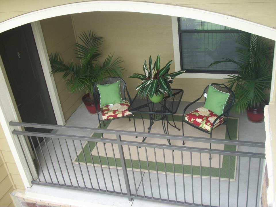 Patio at Listing #150465