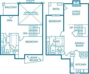 1,602 sq. ft. Arlington floor plan